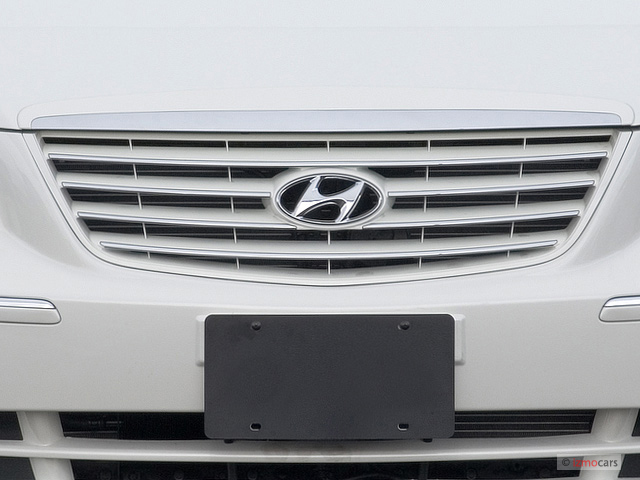 2008 Hyundai Azera 4-door Sedan Limited Grille #7714608