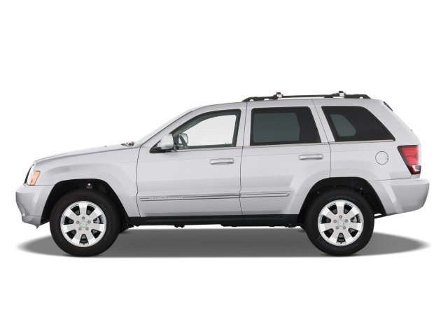 2008 Jeep Grand Cherokee RWD 4-door Limited Side Exterior View #7726396