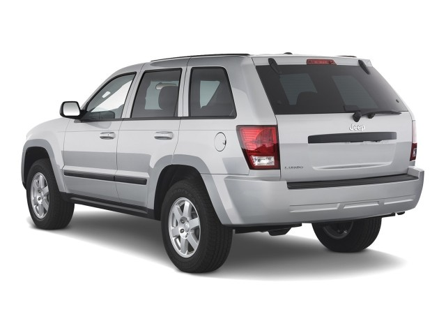 2008 jeep grand cherokee rwd 4 door laredo angular rear exterior view. Cars Review. Best American Auto & Cars Review