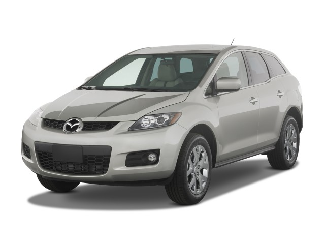 2008 Mazda CX-7 FWD 4-door Grand Touring Angular Front Exterior View #7587362