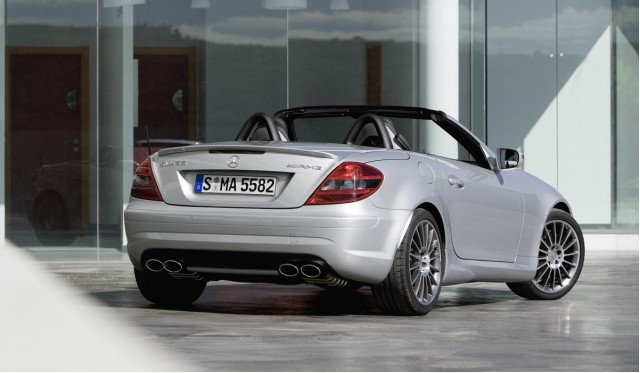 2009 mercedes slk 55 amg restyled. Black Bedroom Furniture Sets. Home Design Ideas