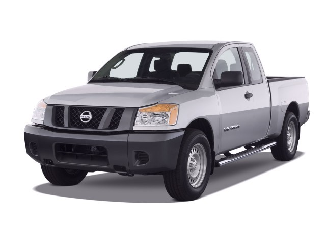 image 2008 nissan titan 2wd king cab swb xe angular front exterior view size 640 x 480 type. Black Bedroom Furniture Sets. Home Design Ideas