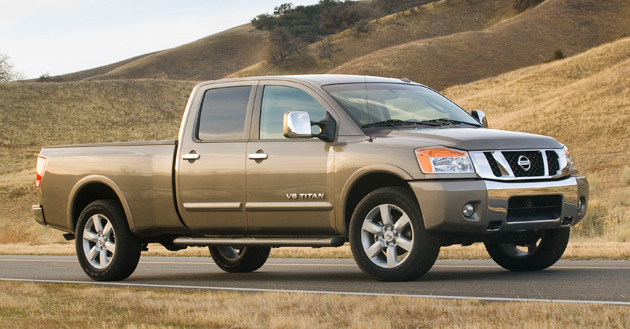 Chrysler May Still Build Nissan S Redesigned Titan Pickup