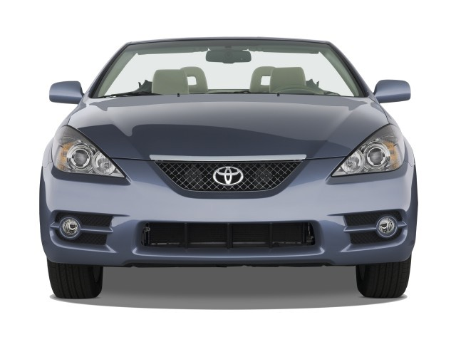 image 2008 toyota camry solara 2 door convertible v6 auto sle natl front exterior view size. Black Bedroom Furniture Sets. Home Design Ideas
