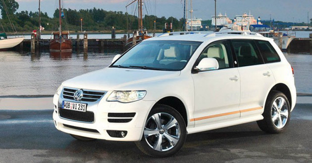 2008 Volkswagen Touareg North Sails
