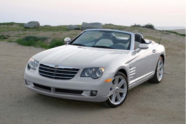 2008 chrysler crossfire review ratings specs prices and photos the car connection. Black Bedroom Furniture Sets. Home Design Ideas