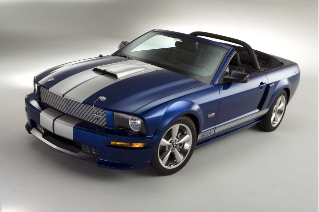 2008 Ford Mustang Shelby GT Convertible #8253638
