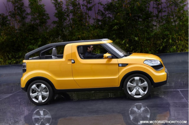 2009 Kia Soulster Concept. Kia considers production of
