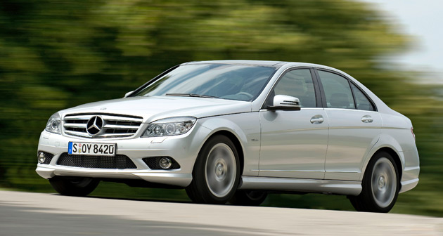 mercedes benz c class gets three new direct injection engines in europe. Black Bedroom Furniture Sets. Home Design Ideas