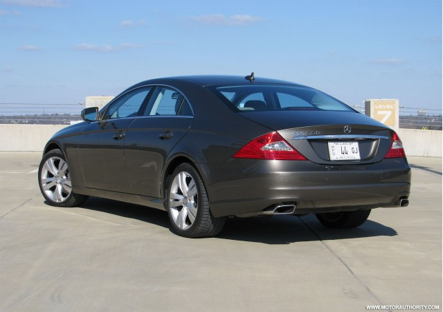 Image gallery 2009 cls550 ranking for Mercedes benz cls 2009