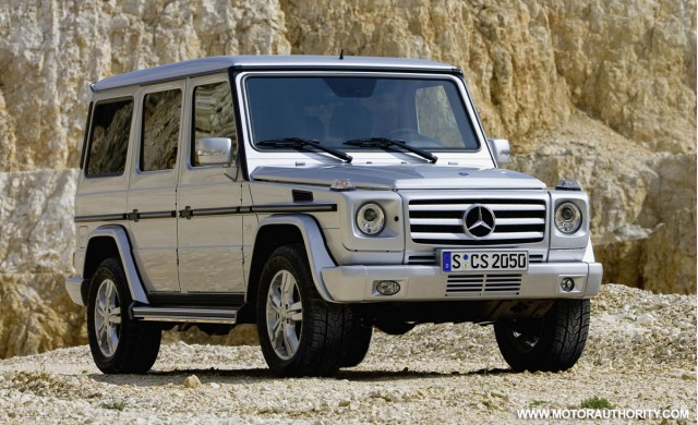 update mercedes adds g55 amg to facelifted g class range. Black Bedroom Furniture Sets. Home Design Ideas