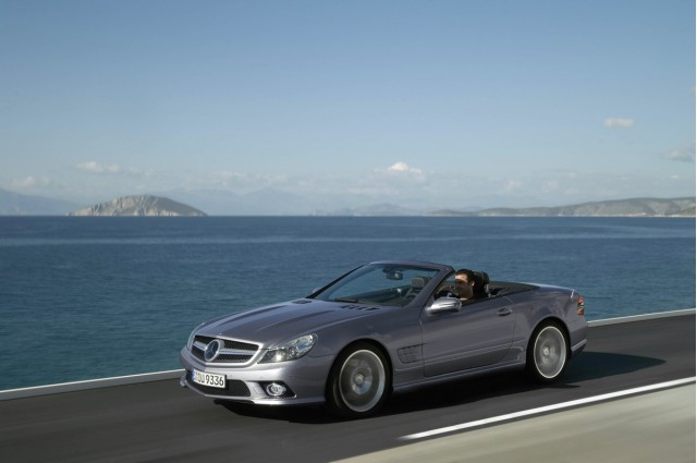 2009 mercedes sl facelift motorauthority 006 #7618588