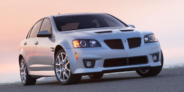 The Pontiac G8 has proven to be a unique entry to GM's U.S. lineup that was developed with minimal investment