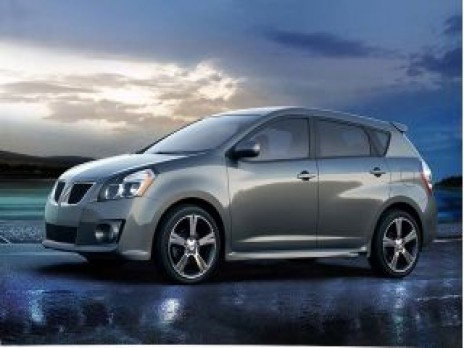 2009 Pontiac Vibe 4-door HB GT FWD Side Exterior View