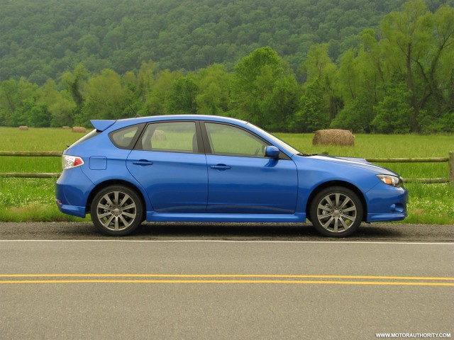 driven 2009 subaru impreza wrx hatchback gallery 1 motorauthority. Black Bedroom Furniture Sets. Home Design Ideas