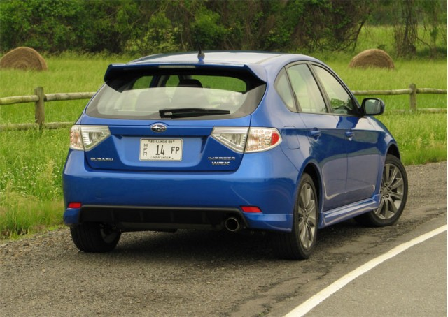 driven 2009 subaru impreza wrx hatchback. Black Bedroom Furniture Sets. Home Design Ideas