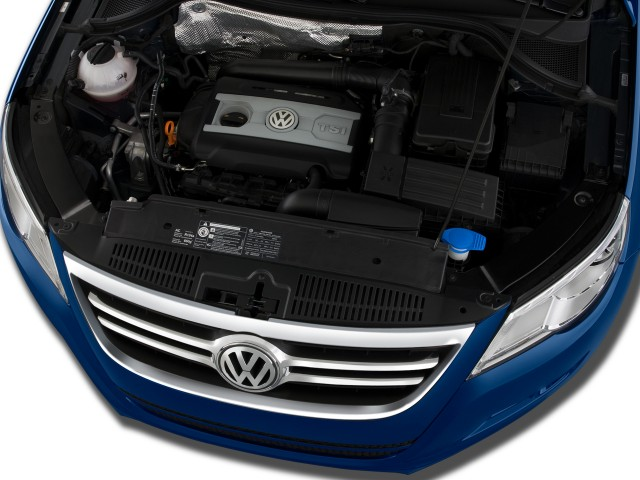 2009 Volkswagen Tiguan FWD 4-door SE Engine #7614885