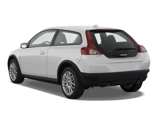 2009 Volvo C30 2-door Coupe Man R-Design Angular Rear Exterior View #7278597