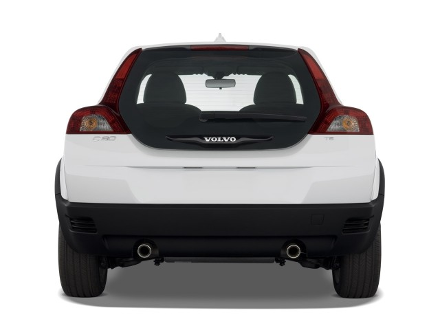 2009 Volvo C30 2-door Coupe Man R-Design Rear Exterior View #8140976