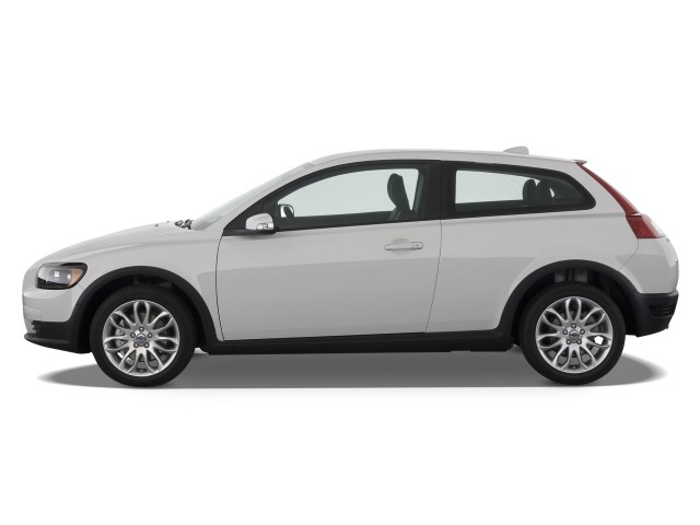 2009 Volvo C30 2-door Coupe Man R-Design Side Exterior View #7024360