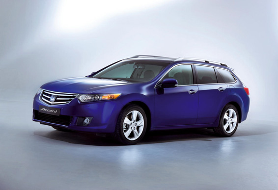Euro-spec Honda Accord Touring (Acura TSX)