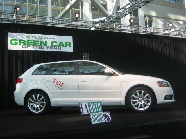 2010 Audi A3 TDI named Green Car of the Year, 2009 LA Auto Show #9750797