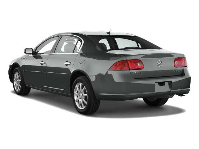 Angular Rear Exterior View - 2010 Buick Lucerne 4-door Sedan CXL