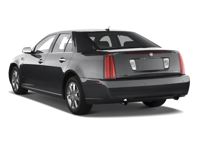 Angular Rear Exterior View - 2010 Cadillac STS 4-door Sedan V6 RWD w/1SA