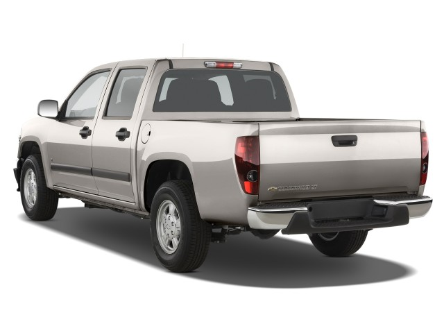 Angular Rear Exterior View - 2010 Chevrolet Colorado 2WD Crew Cab 126.0