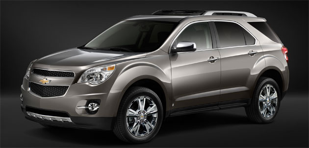 Chevrolet Equinox two-mode hybrid coming in 2011