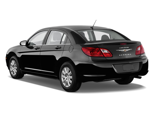 Angular Rear Exterior View - 2010 Chrysler Sebring 4-door Sedan Touring