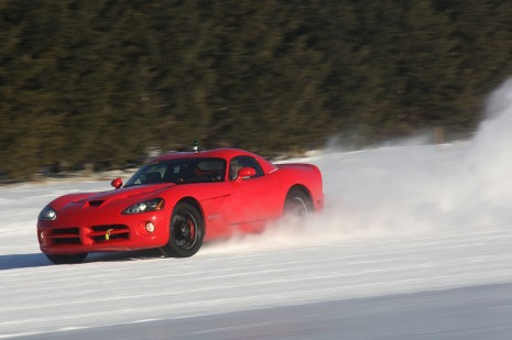 2010 Dodge Viper stability control testing platform for next-gen model