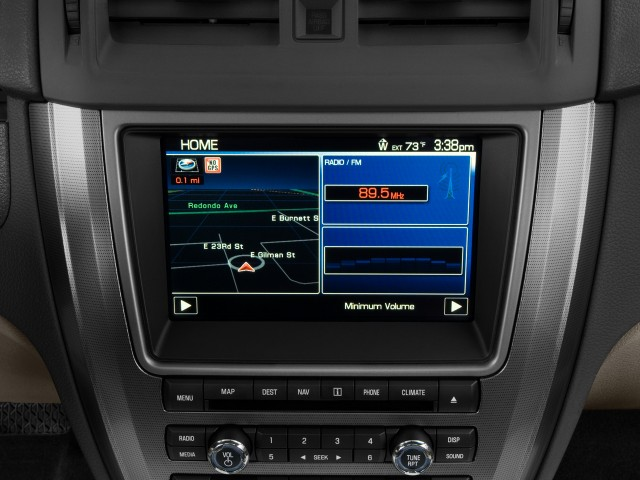 2010 Ford Fusion Navigation Upgrade