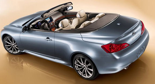 infiniti releases third teaser for g37 convertible. Black Bedroom Furniture Sets. Home Design Ideas