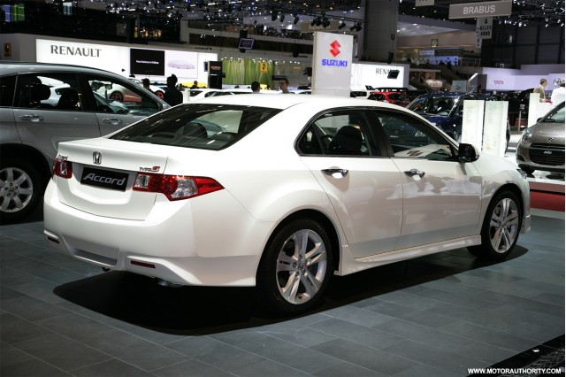 Honda adds 201 horsepower gasoline engine to Accord Euro 'Type S ...