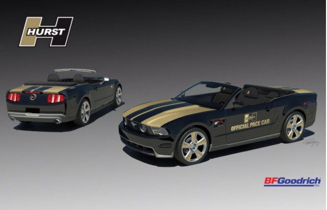 2010 Hurst Mustang pace car Black #8238594