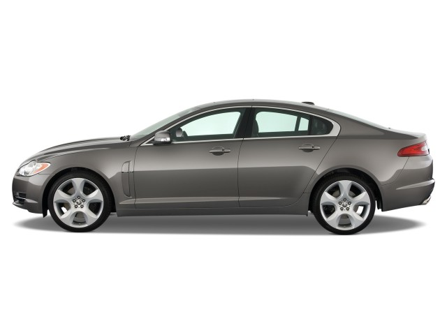 Side Exterior View - 2010 Jaguar XF 4-door Sedan XF Supercharged
