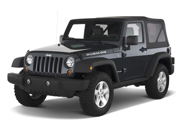 Jeep Wrangler Rubicon Black 2 Door 2010 Jeep Wrangler 4wd 2-door