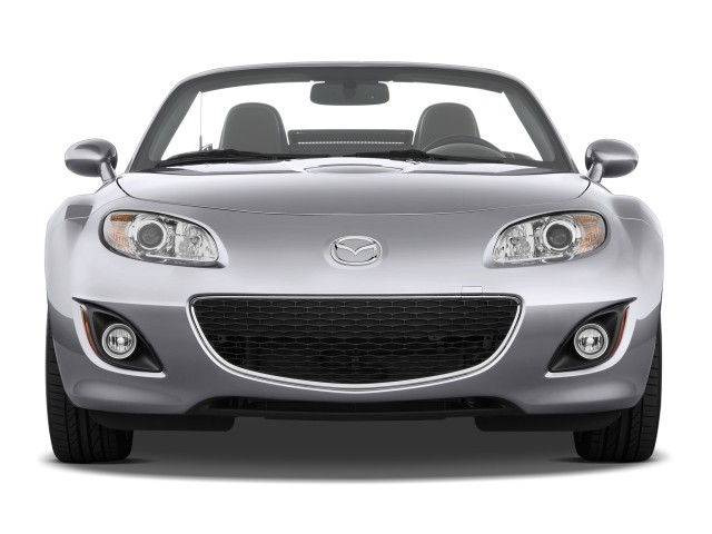 Front Exterior View - 2010 Mazda MX-5 Miata 2-door Convertible PRHT Man Grand Touring