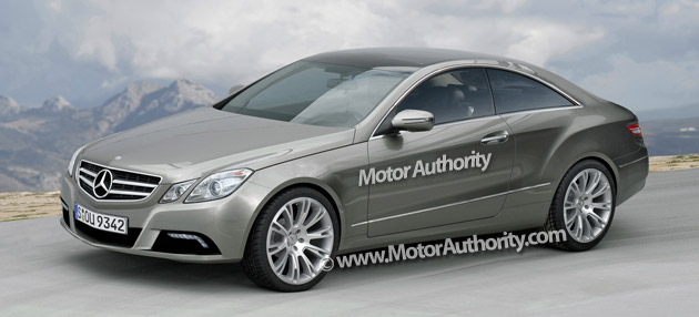 Mercedes' CLK is set to be replaced next year by the all-new E-Class Coupe