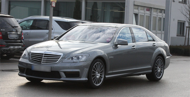 spy shots mercedes benz s class amg facelift. Black Bedroom Furniture Sets. Home Design Ideas