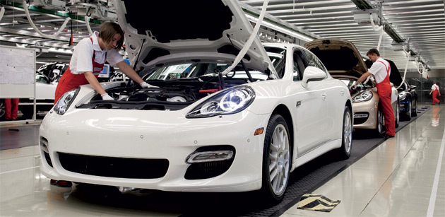 2010 Porsche Panamera assembly facility, Leipzig, Germany #9549976