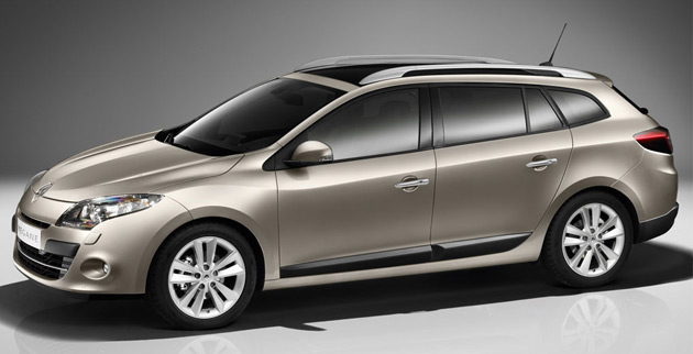 renault expands megane lineup with stylish estate wagon. Black Bedroom Furniture Sets. Home Design Ideas