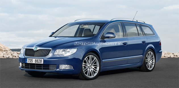 2010 Skoda Superb Estate Pricing Announced