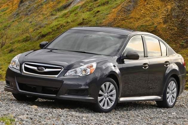New Cvt In 2010 Subaru Legacy Promises Low Maintenance Costs