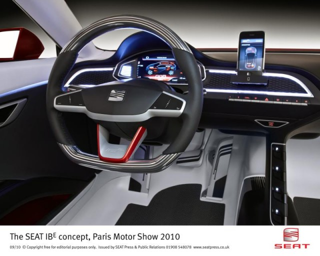 SEAT IBE Concept from the 2010 Paris Motor Show #7424652