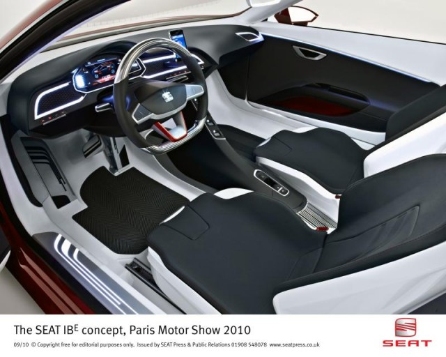 SEAT IBE Concept from the 2010 Paris Motor Show #7290998