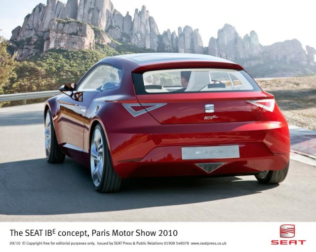 SEAT IBE Concept from the 2010 Paris Motor Show #8834992