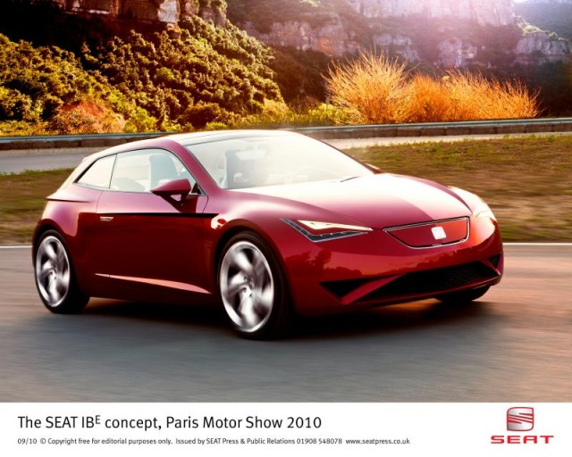 SEAT IBE Concept from the 2010 Paris Motor Show #8707966