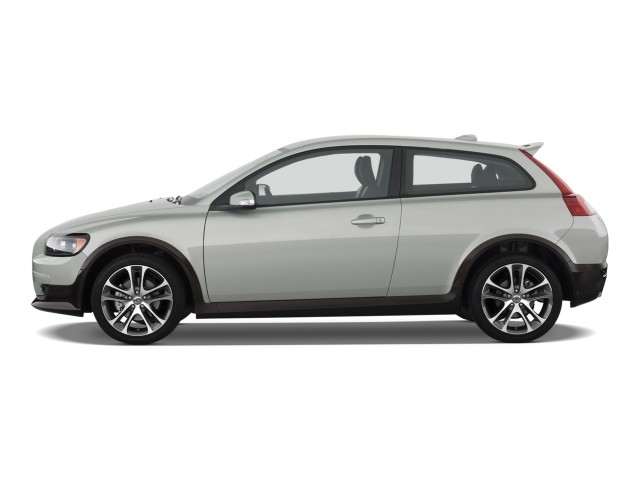 2010 Volvo C30 2-door Coupe Man R-Design Side Exterior View #7011175